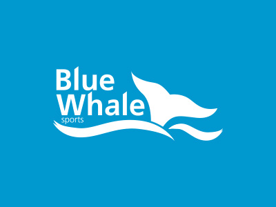 Blue Whale Sport Identity